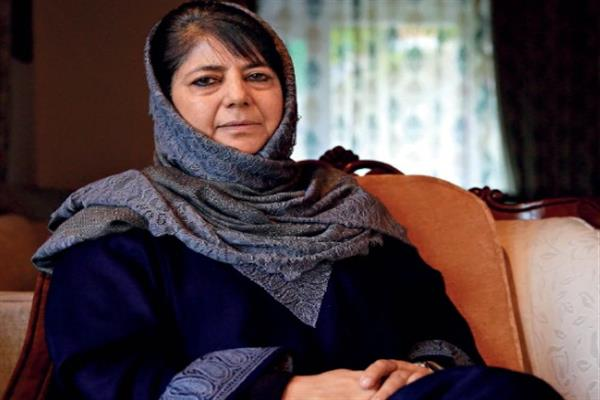 Several public delegations meet Mehbooba Mufti